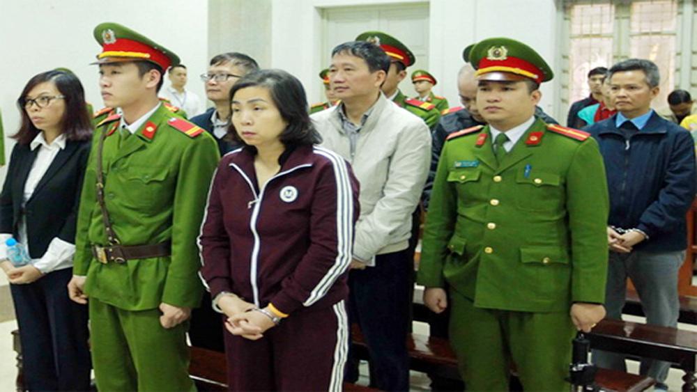 Phúc thẩm vụ tham ô tài sản tại PVP Land: Bị cáo Trịnh Xuân Thanh rút đơn kháng cáo